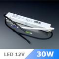 Tápegység 12 Voltos LED-hez IP67 Kültéri (12VDC/2.5A/30W)