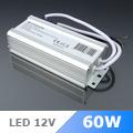 Tápegység 12 Voltos LED-hez IP67 Kültéri (12VDC/5A/60W)