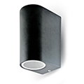 Blacklight Double-1 kültéri oldalfali lámpa IP44 (2xGU10)