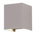 Pegasi kültéri lámpatest, szürke, négyzet (6W BL) term. fehér