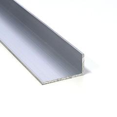 Építő - barkács profilok - Aluminium L profil LED szalaghoz (40x20 mm) nyers