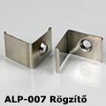 ALP-007 Tartó-, rögzítő elem alumínium LED profilhoz, fém