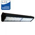 LED csarnokvilágító, lineáris, függeszthető (100W/90°) hideg fehér - fekete
