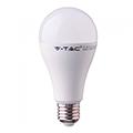 E27 LED lámpa (17W/200°) Körte - meleg fehér