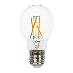 E27 LED izzó Retro filament (4W/300°) Körte - meleg fehér
