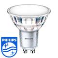 LED lámpa GU10 (5Watt/120°) meleg fehér Philips
