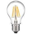 E27 LED izzó Retro filament (8W/300°) Körte - hideg fehér