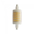 LED lámpa R7s (7W/360°) hideg fehér