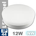 Kültéri mennyezeti LED lámpa kör (12 Watt) - term. fehér