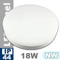 Kültéri opál mennyezeti LED lámpa kör (18 Watt) - term. fehér