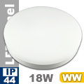 Kültéri opál mennyezeti LED lámpa kör (18 Watt) - meleg fehér