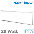 LED panel (1200 x 300 mm) 29 Watt - term. fehér (3600 lm)
