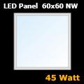 LED panel (600 x 600 mm) 45 Watt - természetes fehér