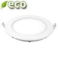 ECO LED panel (kör alakú) 12W - hideg fehér