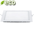 ECO LED panel (négyzet alakú) 18W - hideg fényű