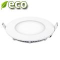 ECO LED panel (kör alakú) 3W - hideg fehér