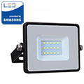 PRO LED reflektor fekete (10W/100°) Hideg fehér