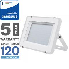 PRO LED reflektor fehér (150W/100°) hideg fehér, 120lm/W, Samsung