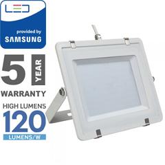 PRO LED reflektor fehér (200W/100°) hideg fehér, 120lm/W, Samsung