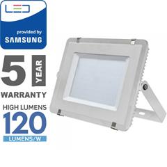 PRO LED reflektor fehér (300W/100°) hideg fehér, 120lm/W, Samsung