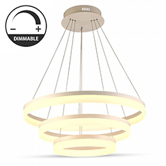 Ledes design csillár (80W) - meleg fényű (3906) dimmelhető