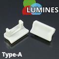 Type-A Végzáró aluminium U profilhoz, szürke
