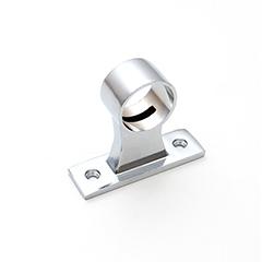 Rögzítő konzol rövid, 3 cm fém, kör alakú COSMO Aluminium LED profilhoz
