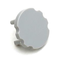 MICO - Véglezáró elem, függeszthető kör alakú Aluminium LED profilhoz, szürke