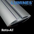 Reto - Több szögben felszerelhető pultvilágítás LED szalaghoz, átlátszó burával