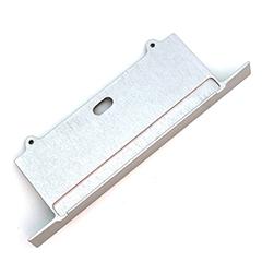 SORGA - Véglezáró elem Aluminium U profilhoz, matt alu