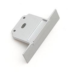 SUBLI - Véglezáró elem Aluminium U profilhoz, ezüst