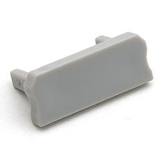 Type-D - Véglezáró elem Aluminium U profilhoz, szürke