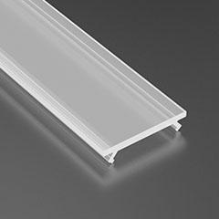 LUMINESB-K2020-MR / Basic félig átlátszó PVC bura