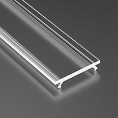 LUMINESB-K2020-T / Basic átlátszó PVC bura
