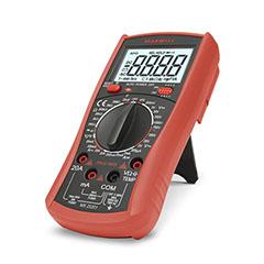 Digitális multiméter, True-RMS (200s) fekete-piros