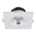 Szpot LED lámpa 5W (350 lm) természetes f., négyzet