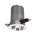 Mélysugárzó LED lámpa 6 Watt (CRI>95 - UGR<19) változtatható sugárzási szög, meleg fényű