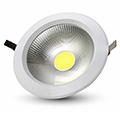 Mélysugárzó LED lámpa 10W (1200 lm) hideg fényű
