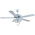 - Mennyezeti ventilátor fehér (4 lapát, 3xE27 foglalat)