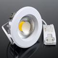 Beépíthető LED lámpa 10W (135 mm, kerek) hideg f.