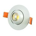 Spot LED lámpa, billenthető, kör, fehér (3W) hideg fehér