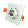 Spot LED lámpa, billenthető, négyzet (3W) hideg fehér