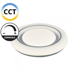 Mennyezeti csillagos LED panel (65W - kör) falon kívüli, változtatható színhőmérséklet + fényerő állítás