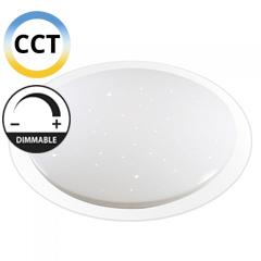 Mennyezeti csillagos LED panel (72W - kör) falon kívüli, változtatható színhőmérséklet + fényerő állítás