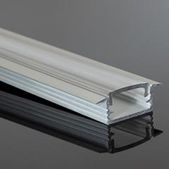 - MINI-01-B - Alumínium RS profil (süllyeszthető) LED szalaghoz, átlátszó bura
