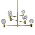 Modern Gold csillár (6xE27) - arany