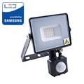 Mozgásérzékelős PRO-B LED reflektor (10W/100°) hideg fehér