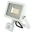 Mozgásérzékelős LED reflektor (20W/100°) 6000K Fehér