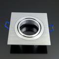 Alumínium dupla/tripla spot (3606), 1-es, szálcsiszolt alu
