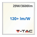 LED panel (600 x 600mm) 29W - természetes fehér (120+lm/W) A++